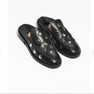 & OTHER STORIES Circle Stud Loafers